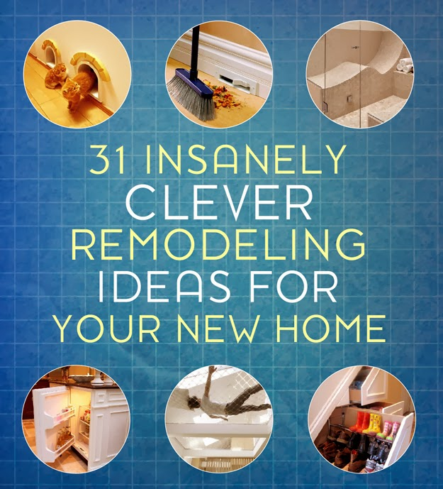 31 insanely clever remodeling ideas for your new home diy craft projects - Insanely easy clever diy projects home ...