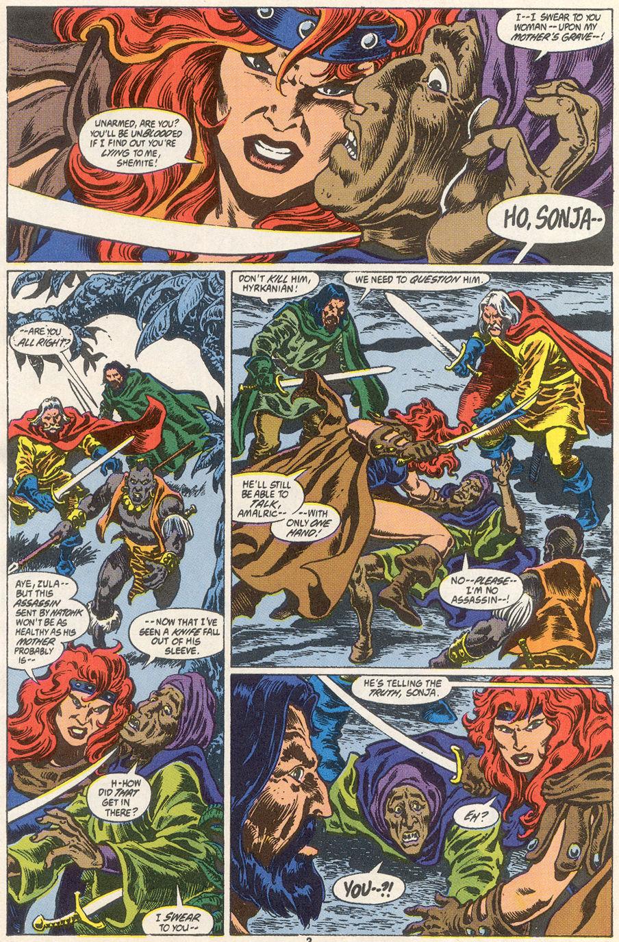 Conan the Barbarian (1970) Issue #249 #261 - English 3