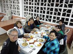 Comité Coordinador del CREE, compartiendo la cena