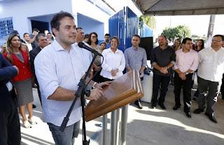 ALAGOAS: Governador entrega Delegacia de Homicídios de Arapiraca