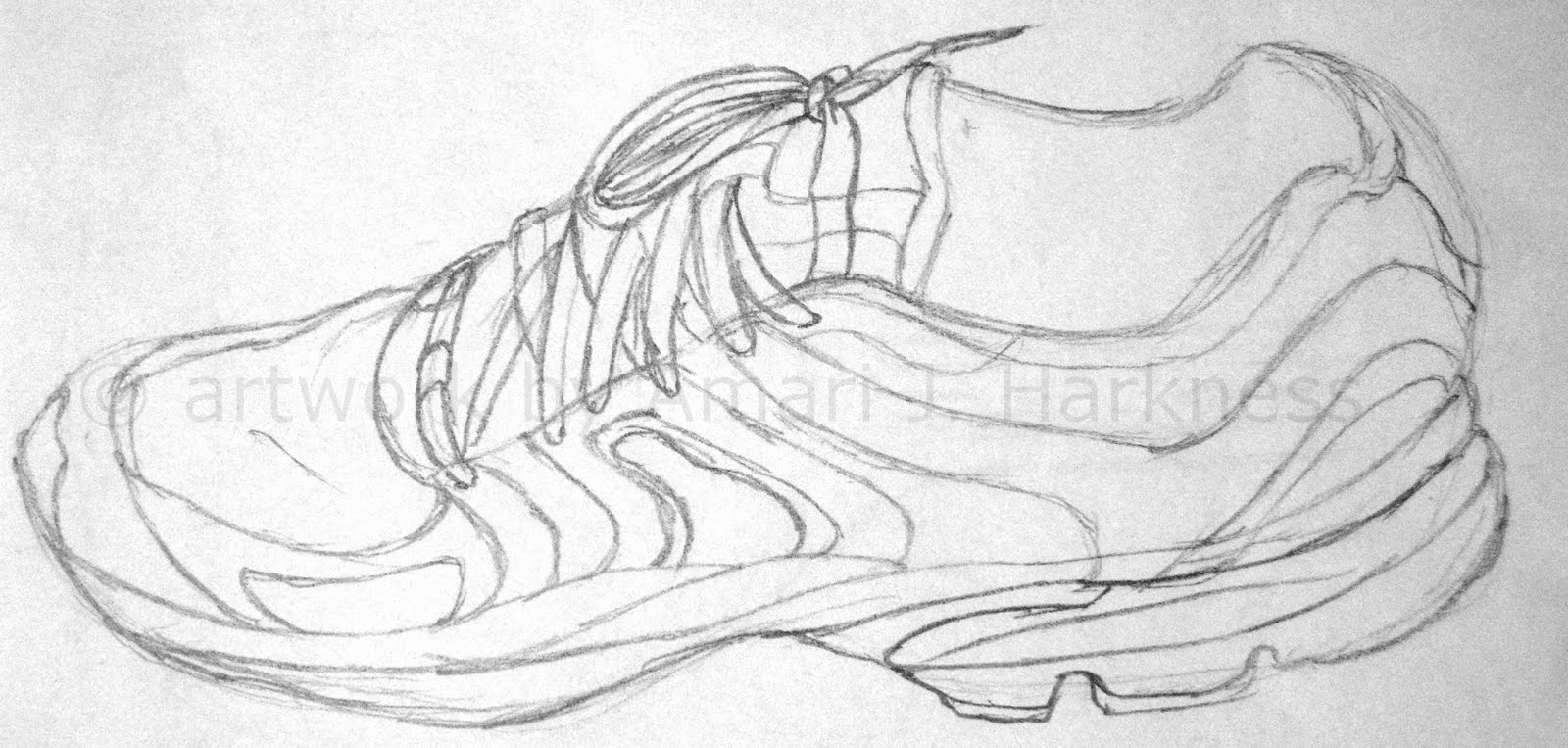 Contour Line Drawing Of Shoes : Sketching with reckless abandon some random sketches