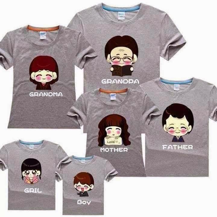 áo gia đình 6 người