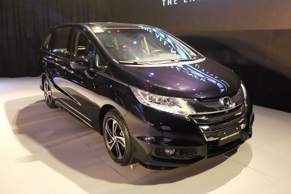 Honda Cars Philippines Inc HCPI Has Announced That Its New Luxury MPV The All 2015 Odyssey Garnered Strong Traction Straight Out Of