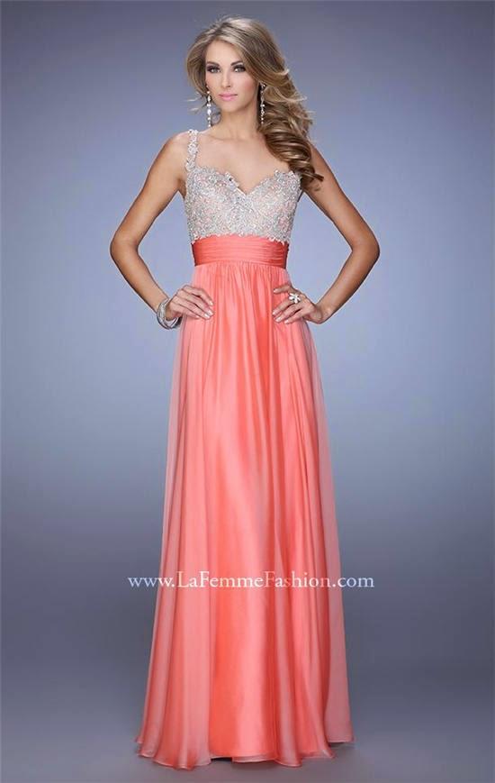 La femme 16802 long prom dress