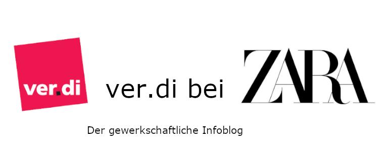 ver.di bei Zara