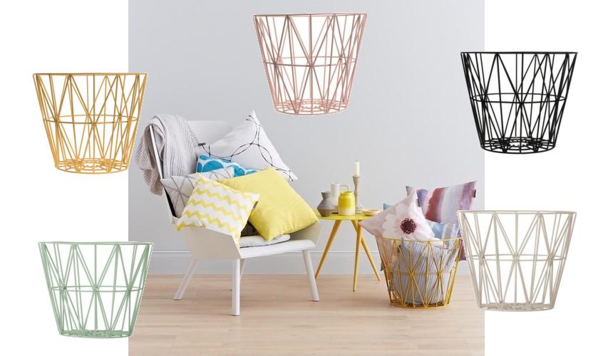 Interior picks: Ferm Wire Basket