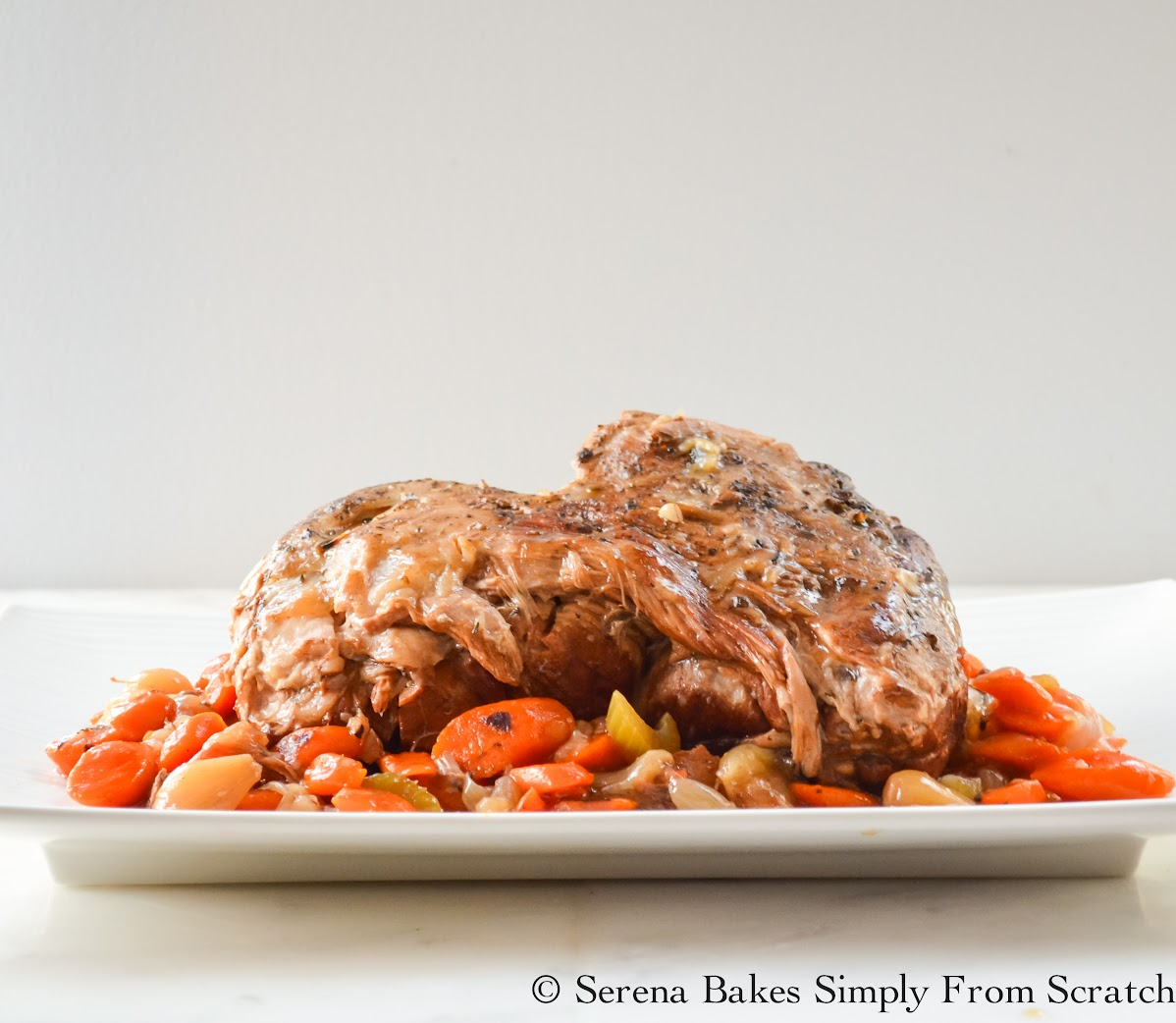 Balsamic Pork Pot Roast the perfect dinner for fall.