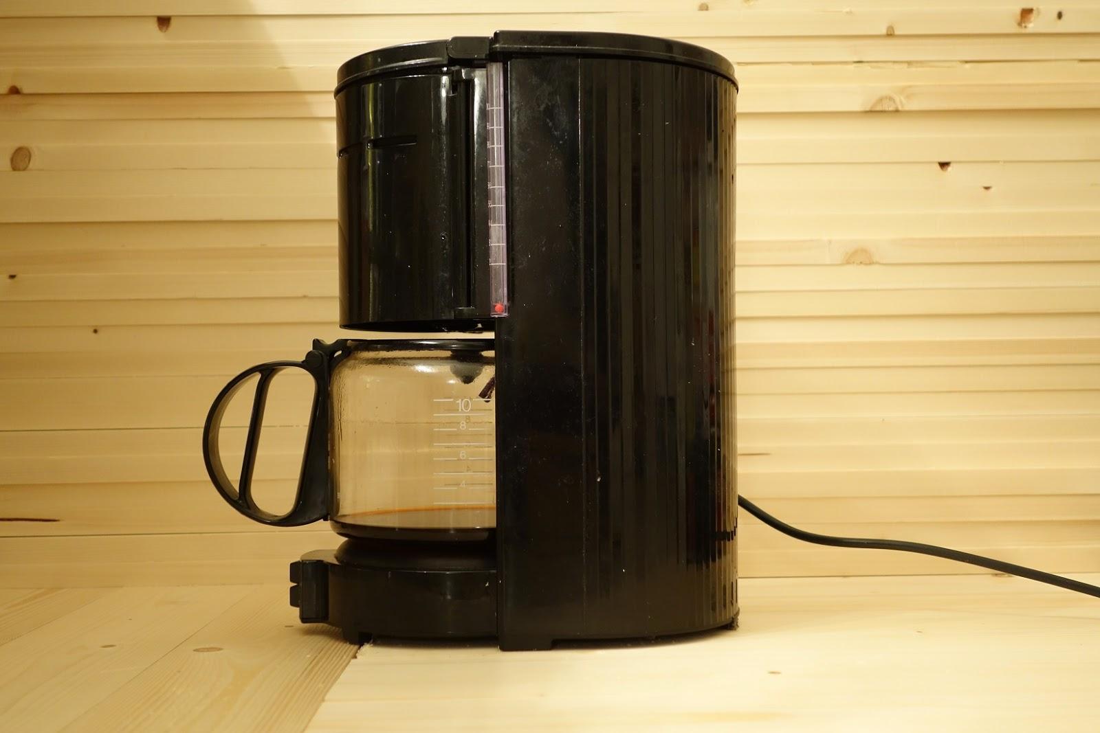 koffiezetapparaat kringloop