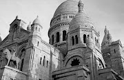the outside is so gorgeous, too. by Stephan Edelbroich. (paris montmartre sacre coeur bw)