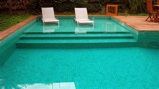 Piscinas de concreto alvenaria e azulejo piscinas de azulejo - Azulejos para piscina ...