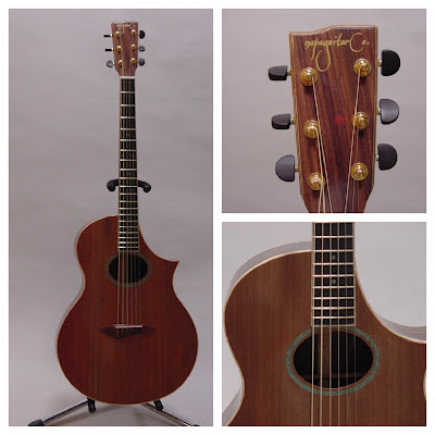 Charles Krug Guitar Auction Collage