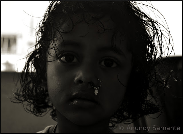 Clicked Her myriad Moods in Monochrome