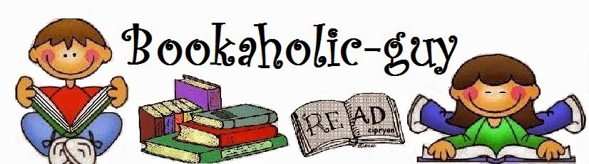 Logo Bookaholic-guy: Books for Life!