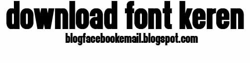 download font keren headthinker
