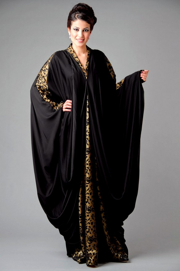 Islamic Abaya Dresses Designs 2013 2014 Dubai Abaya Fashion Designs Indian Fashion Dresses
