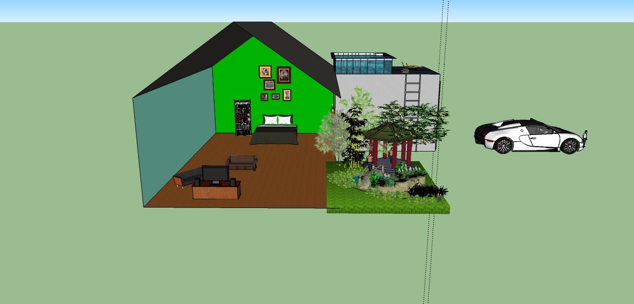 Diego ferreiro mi casa primera practica con google sketchup - Mi casa practica ...