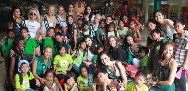 Miss Earth 2012 Charity Day Challenge