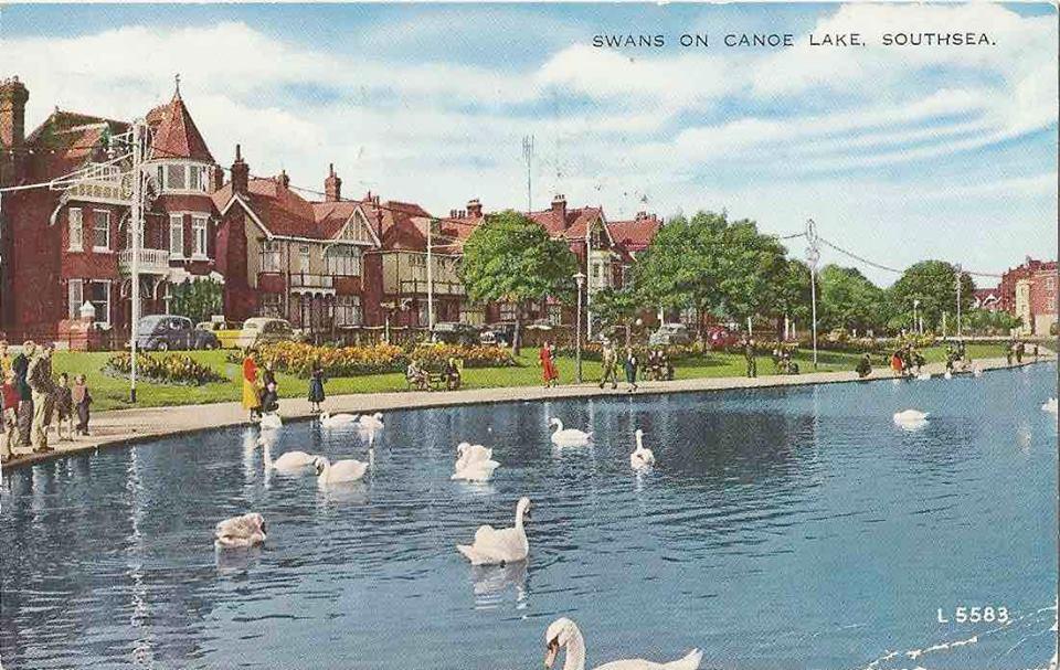 Canoe Lake 1950s