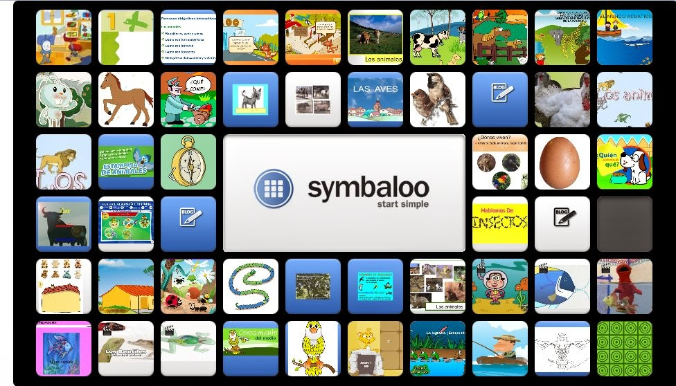 http://www.symbaloo.com/mix/animales