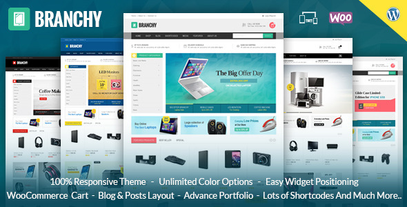 Download Branchy - WooCommerce Responsive Wordpress Theme