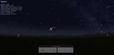 Venus el 11 de julio de 1985