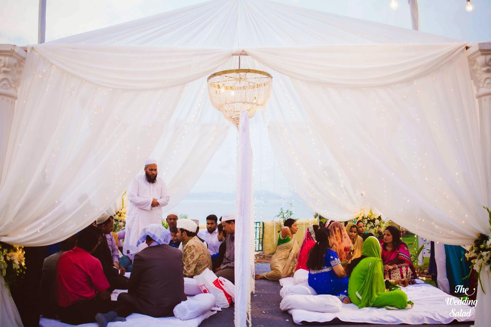 Vahi & Faisal, Seaside Nikah, Mumbai ~ The Wedding Salad