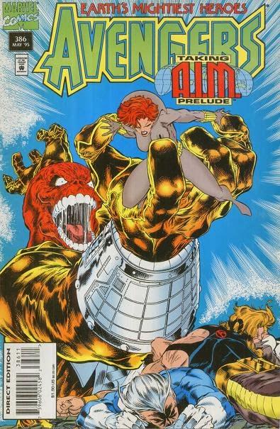 Avengers 386 cover