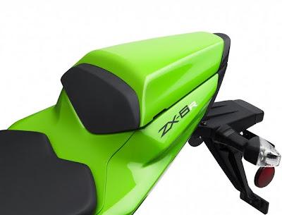 2011 Kawasaki Ninja ZX-6R Seat View