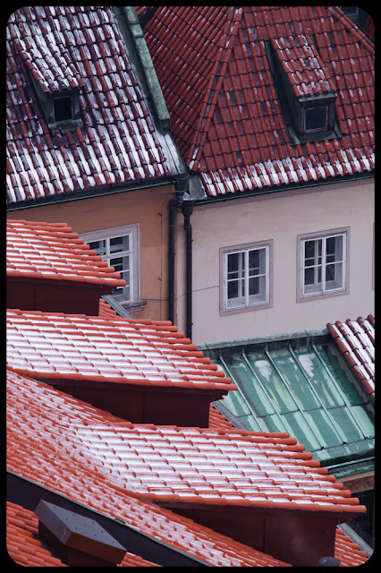 Pocztówka z Pragi - Praska Geometria. fot. Łukasz Cyrus, Ruda Śląska