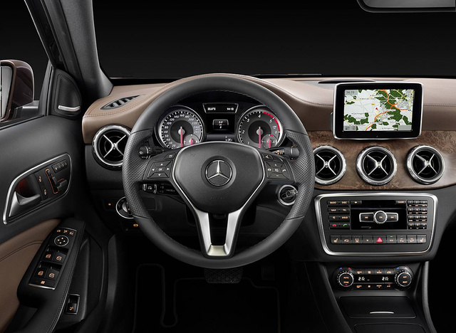 Official Mercedes GLA interior
