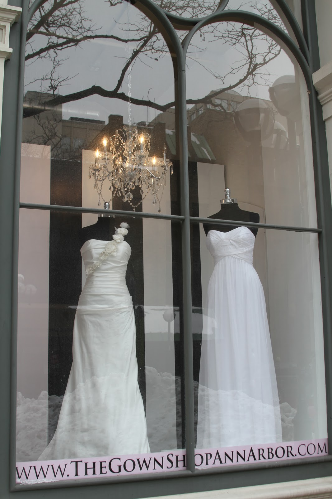 Crowning celebrations crowning cunning the gown shop for Ann arbor wedding dress