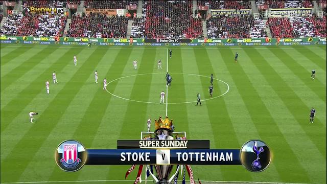Premier League - Stoke City vs Tottenham Hotspur 12/05/2013