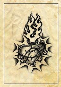 heart tattoos,flower tattoos,feminine tattoos,delicate tattoos,pretty tattoos,banner tattoos