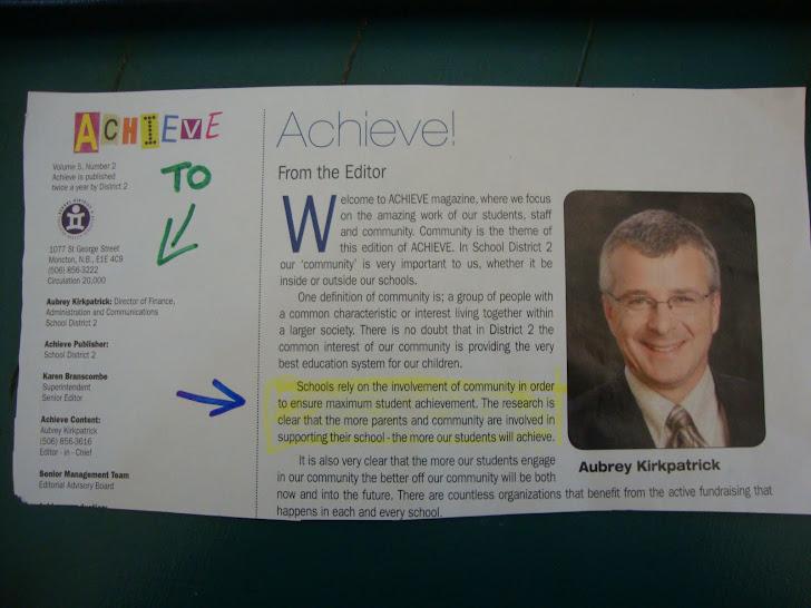 """Achieve"" magazine..."