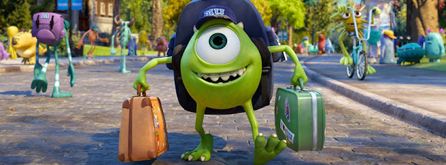 Monsters University Character