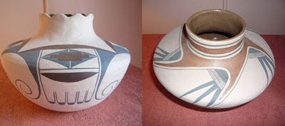 My own Nampeyo inspired pottery