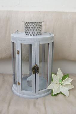 Lampion metodą suchego pędzla