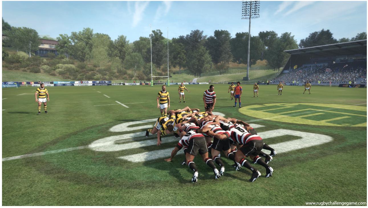 Rugby Scrum All Blacks