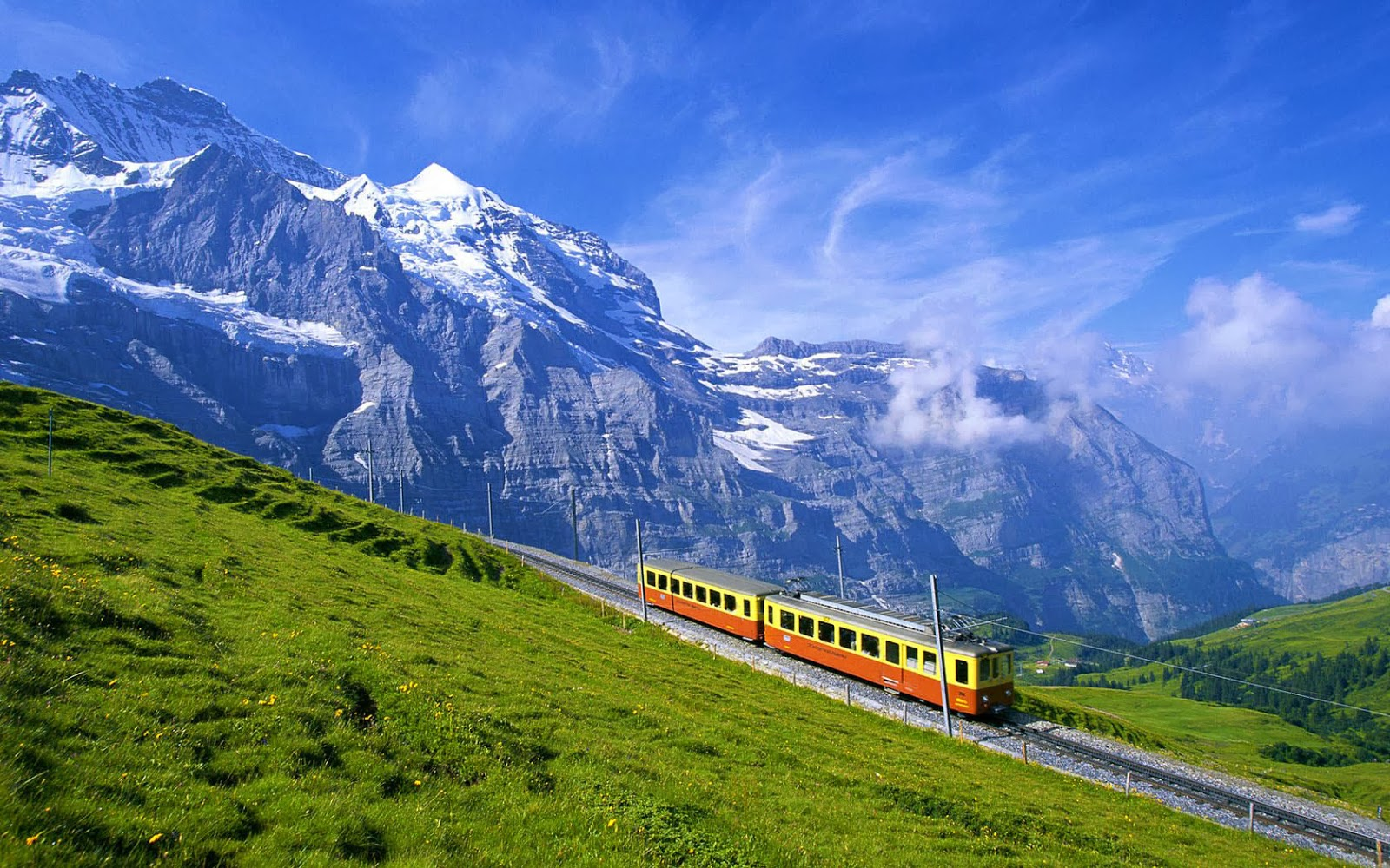 Bernese Alps, Switzerland.