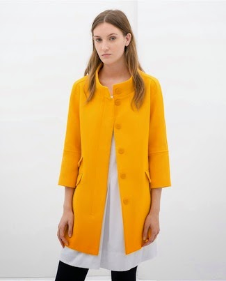 Sale item of the week: Zara's yellow coat