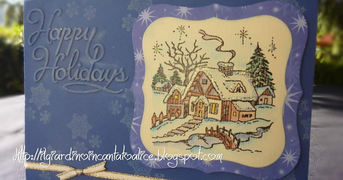 Il giardino incantato di alice christmas cards qualche idea ritardataria - Il giardino di alice ...