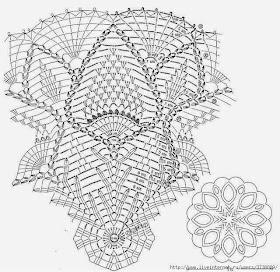 Схема ирландского кружева крючком салфеток фото 977