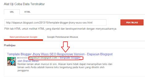 Cara memasang breadcrumbs terindex Google di blog