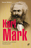 toko buku rahma: buku KARL MARK Riwayat Sang Pemikir Revolusioner, pengarang isaiah berlin, penerbit panji pustaka