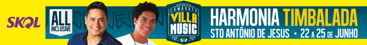 Camarote Villa Music, Harmonia e Timbalada