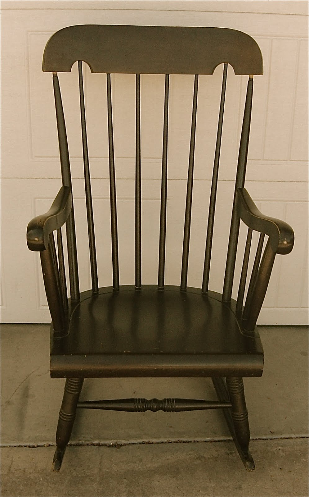 backyard boutique by five to nine furnishings dark wood rocking chair