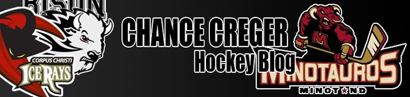Chance Cregers Hockey blog