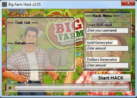 How to get free Big Farm Gold&Dollars