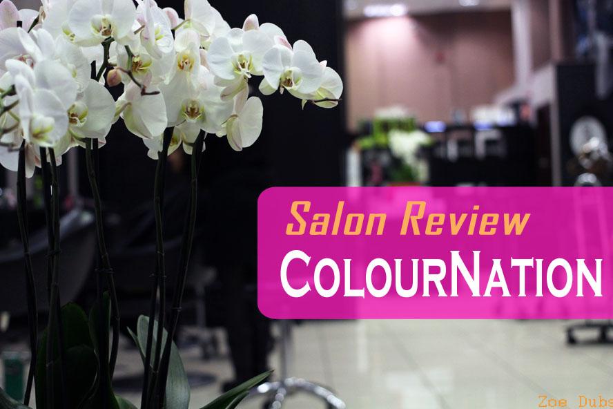 Salon Review: ColourNation Purple Hair