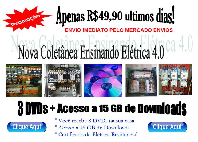_ Promoção DVDs Ensinando Elétrica apenas R$ 49.90